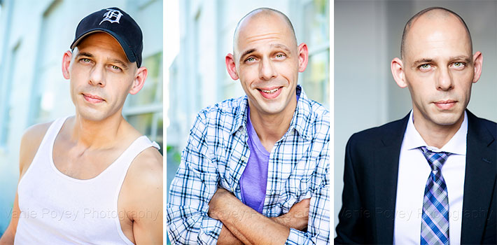 Actor Headshot Samples