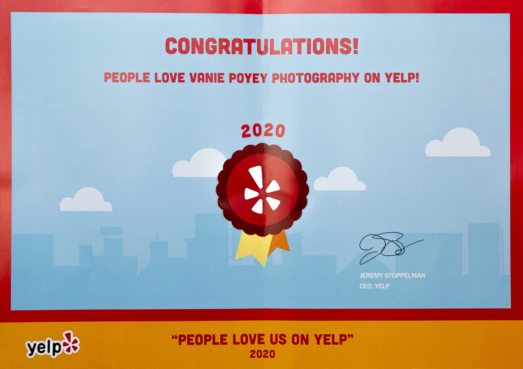 Vanie Poyey Yelp Reviews